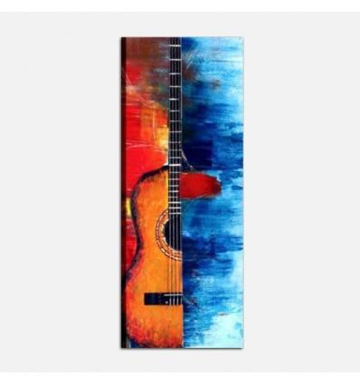 MUSICA 2 - Modern painting guitar