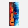 MUSICA 2 - Dipinto musicale verticale chitarra