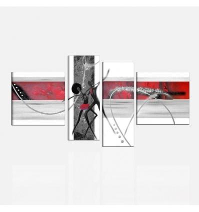 BAILANTE - Quadri moderni ballerini