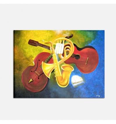 MUSICA E ARTE - Quadro musicale