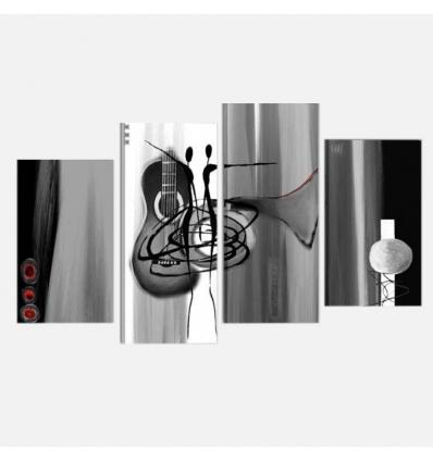 NORTEN  cuadros modernos musica