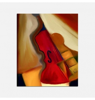 cuadro moderno violin - Violino 2