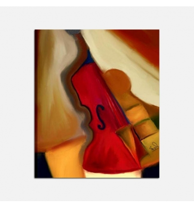 Quadro moderno - Violino 2