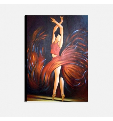 A SCUOLA DI DANZA 2 - Cuadro con Bailarina