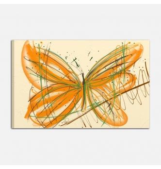 Quadro moderno dipinto a mano - farfalle 5