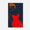 Quadro figurativo donna  - Vanity