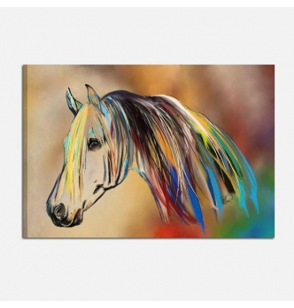 Quadro moderno - Amore per i cavalli