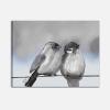 Quadri moderni dipinti a mano con uccelli - Birds