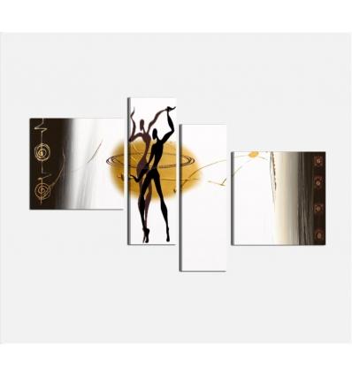 DANZER - Modern painting dancers