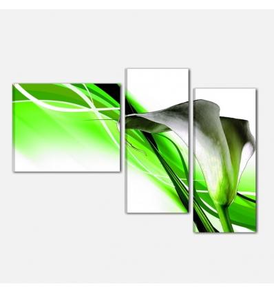 PUKET - Quadri moderni con fiori. Bellissima calla