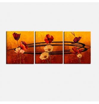 LIBECCIO - Quadri moderni con fiori