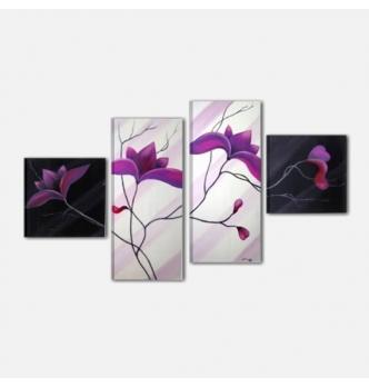 BOCA CHICA - Quadri astratti con fiori