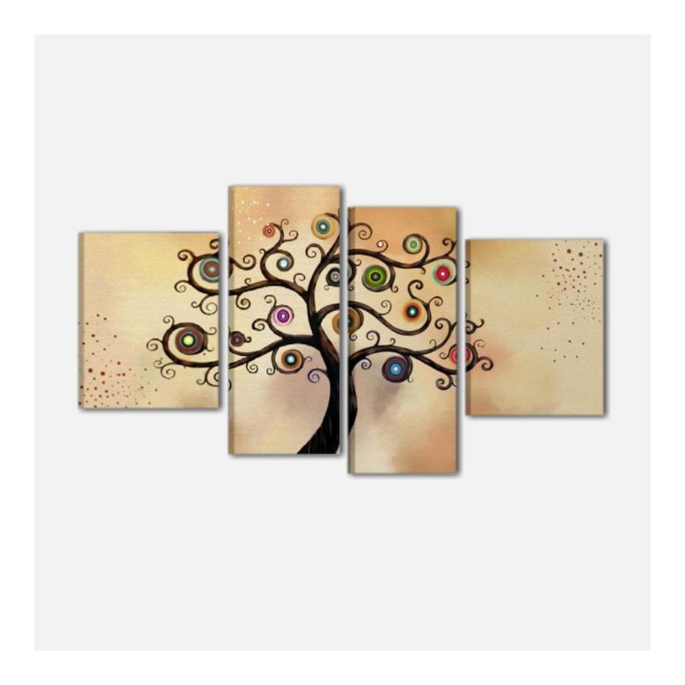 Quadri moderni astratti con albero alta qualit made in italy for Quadri moderni in offerta