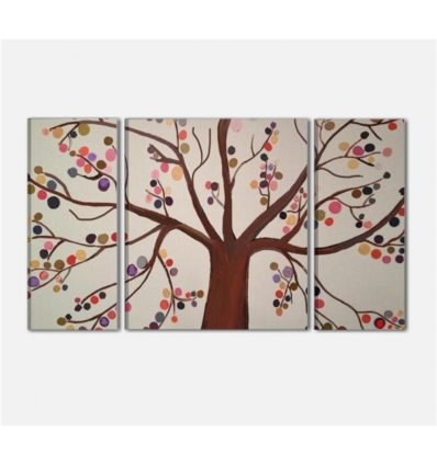 NATURALE - Modern painting tree