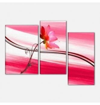 AXEL - Quadri astratti con fiore