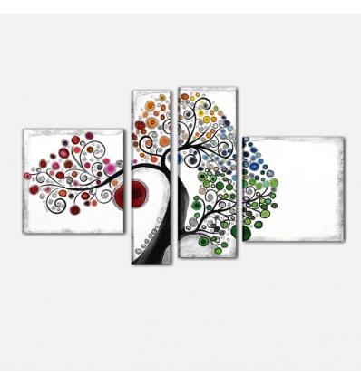 SPRING - Cuadros modernos arbol