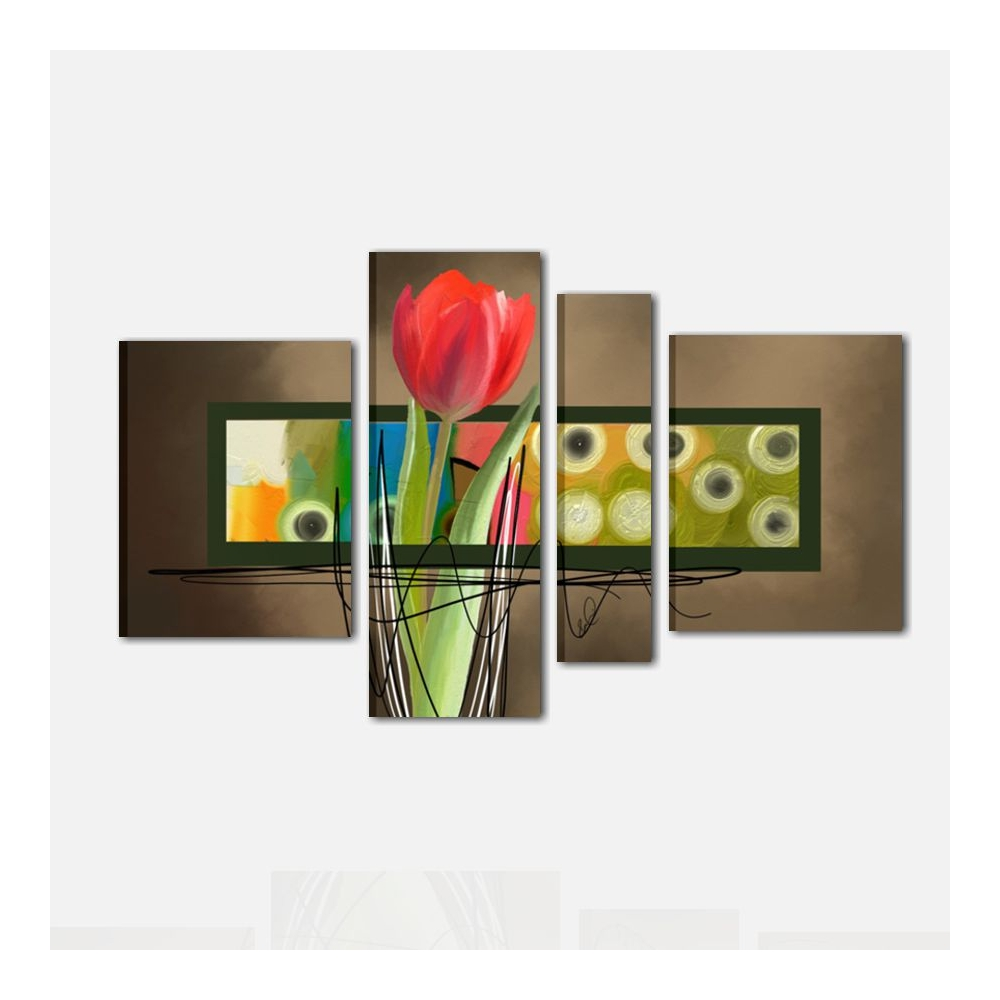 Quadri dipinti a mano con fiori - Edgar