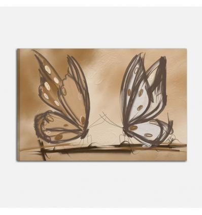 Quadri moderni con farfalle - Mariposa 12