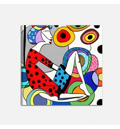 Quadro moderno stile pop art - Roxana