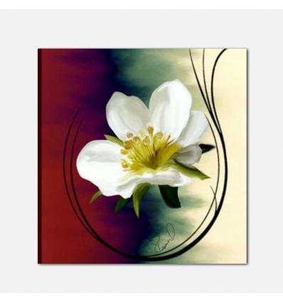 ADELMA - Quadri moderni con fiore