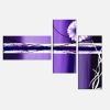 TILDA - Dipinto con fiori viola