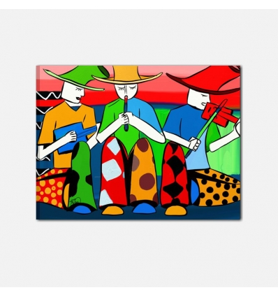 Quadro moderno Pop Art - Band