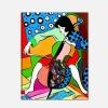 Quadro Pop Art - Suonatrice