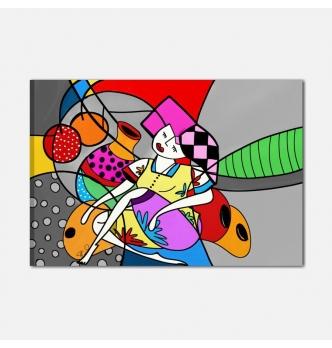 Quadro pop art dipinto a mano - Shein