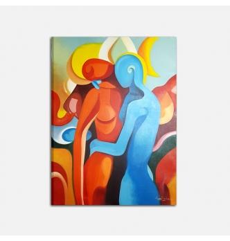 Painting - Il calore di un abbraccio