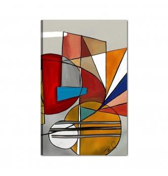 ACCENT - Dipinto moderno astratto
