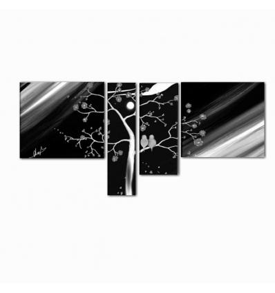 EULALIA - Quadri moderni con albero