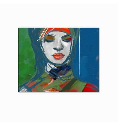 CENIS - Modern painting blue
