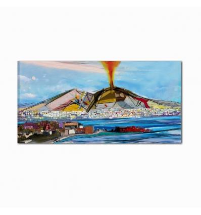Il Vesuvio - Quadro moderno