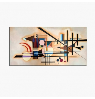 Quadro astratto  - Hard in soft Kandinsky