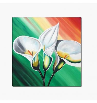 TENERIFE - Cuadro moderno con flores