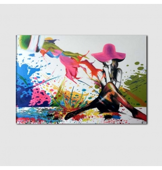 Quadro moderno dipinto a mano - VERONICA