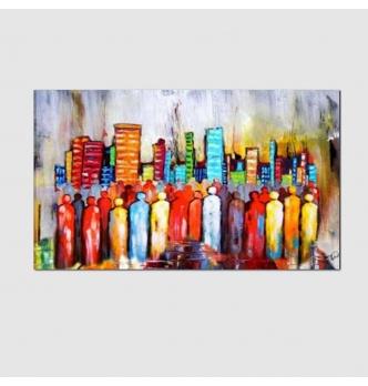 Modern paintings - People