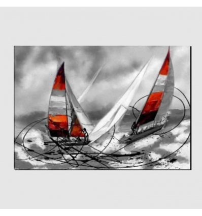 quadro moderno - Barche a vela