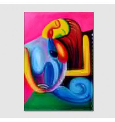Quadro moderno dipinto a mano - Sveva