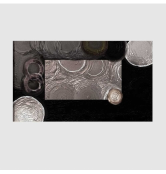 DORIAN - Modern painting black