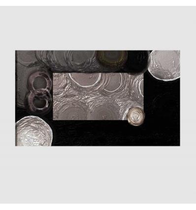 DORIAN - Quadro astratto nero