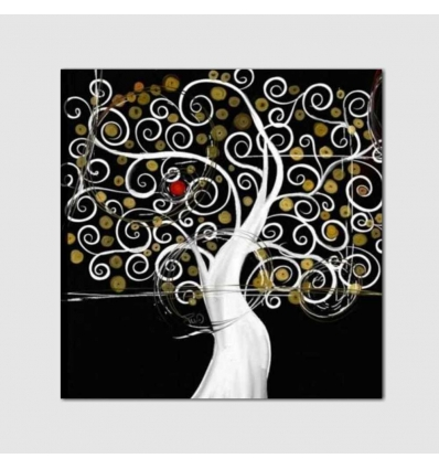 Quadro moderno dipinto a mano - PORTOS