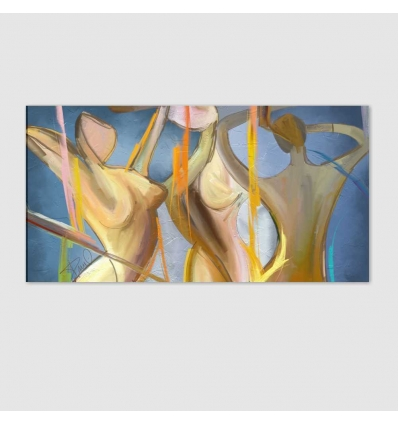 LINEE DI COLORE - Modern painting