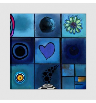 DOMINITILLA - Modern painting symbols