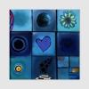 DOMINITILLA - Quadro moderno  blu