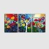 FELICITA' - Quadri moderni stilizzati colorati