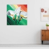 TENERIFE - Quadro moderno con fiori