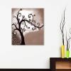 Quadro dipinto a mano con albero - Vadeina