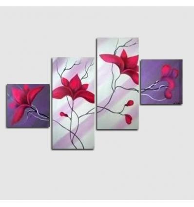 BOCA CHICA 2 - Cuadros modernos con flores