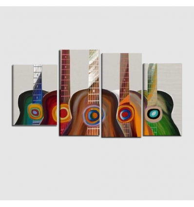 CHITARRE - Modern painting guitar